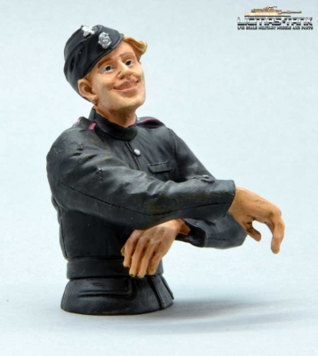 German Tank Crew Radio Operator Normandy 1944 Half Body Figure 1:16