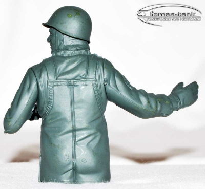 Figure Military american Soldier Tank Heng Long unpainted 1/16