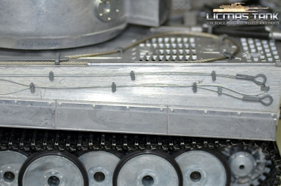 Accessories lateral rope metal Tiger 1 tank 1:16