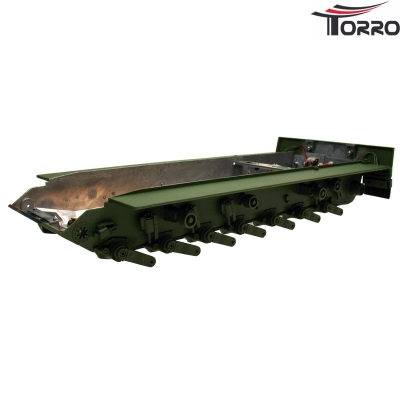 Painted Metal Chassis Leopard 2A6