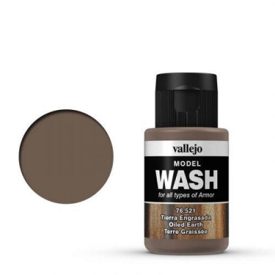 Vallejo Model Wash Oiled Earth ( geölte Erde) 76521 35ml Farbe
