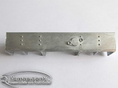 Panzer 3 Stug 3 lower metal rear part 1:16