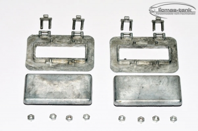 Panzer 3 metal hatches for cooler 1:16 MT103 set with screws
