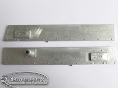 Panzer 3 metal side plates left and right 1:16 MT 087