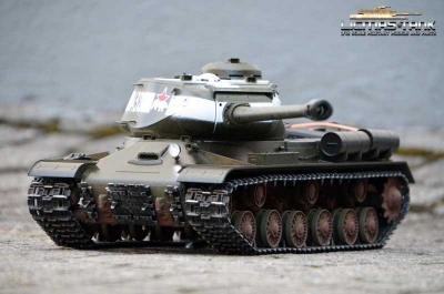 RC Panzer 2.4 GHZ IS-2 (JS-2) Taigen Profi Metall Edition BB 1:16