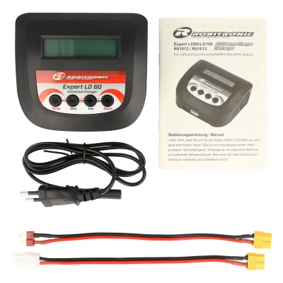 Robitronic Expert LD 60 Charger LiPo 2-4s 6A 60W