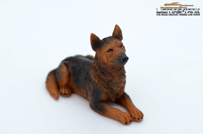 German Shepherd Dog Resin 1:16 licmas-tank