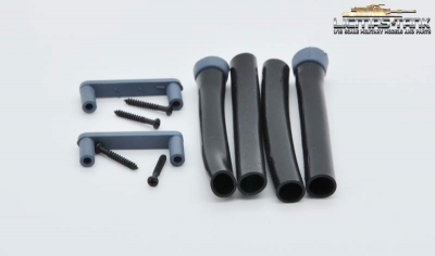 Tiger 1 plastic tubing early version with bracket 1:16