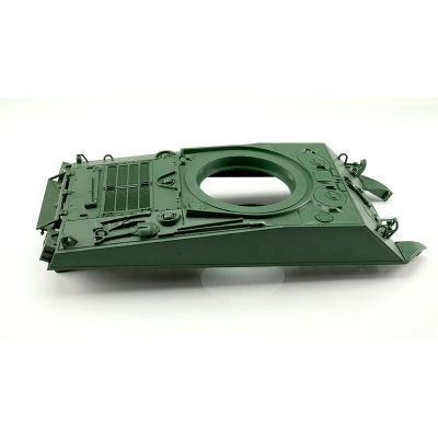 Sherman M4A3 76mm plastic upper hull unpainted 1/16