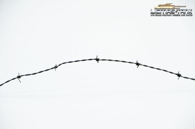 Barbed wire 1:16 military model construction licmas-tank