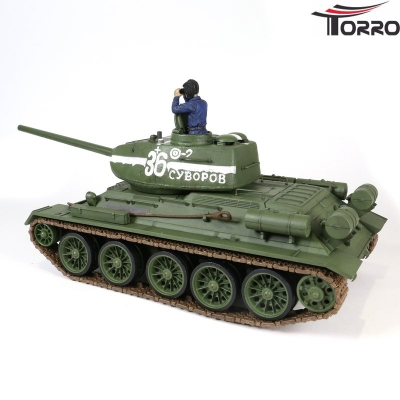 RC PANZER T-34/85 Forces of Valor 1:24