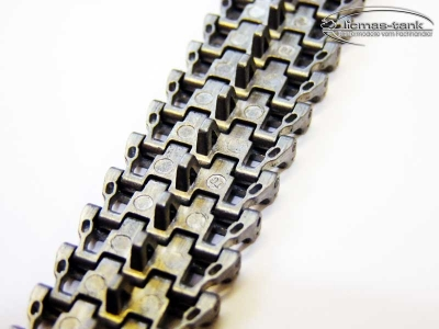 Top quality tanks 4 silver metal tracks 1:16 Taigen for Heng Long Tanks