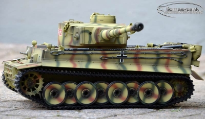 RC Panzer 2.4 GHz Taigen Tiger 1 Kursk Metall Edition BB Version 1:16 Licmas-Tank