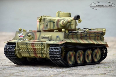 2.4 GHz Taigen Tiger 1 RC Tank Kursk Special-Version 6mm Shooting 1:16 Licmas-Tank