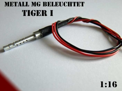 Metal MG lights Tiger I Heng Long