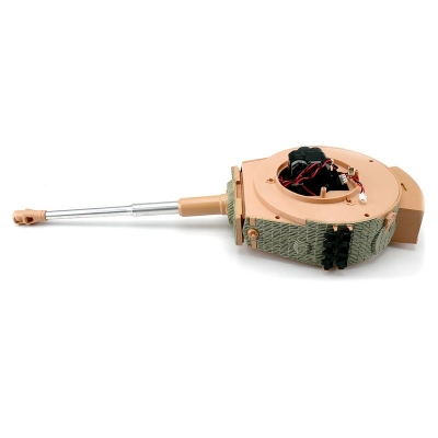 Taigen Tiger 1 Plastic Turret 6mm BB Shooting Version - Late Version