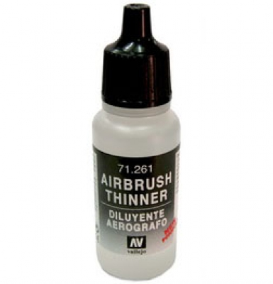 Airbrush Thinner 71261 17ml Acrylicos Vallejo