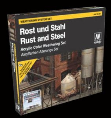 Vallejo Model Color: Rust & Steel Set  ( Rost und Stahl )