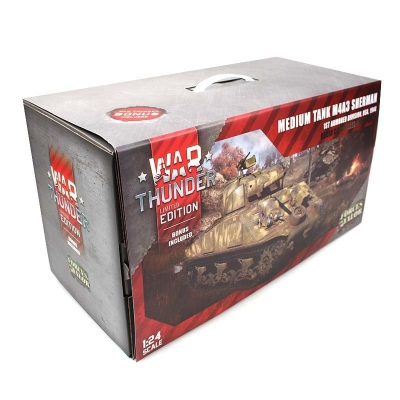 RC TANK M4A3 Sherman 1:24 Forces of Valor - Limited War Thunder Edition (Torro)