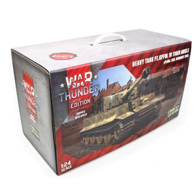 TIGER 1 / PzKpfw VI Tiger late 1:24 Forces of Valor - Limited War Thunder Edition