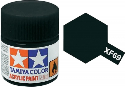 Tamiya Paint XF-69 NATO Black 23 ml