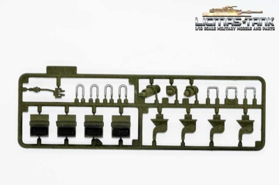 M41 Plastic Accessories Set 3839 B Heng Long 1:16