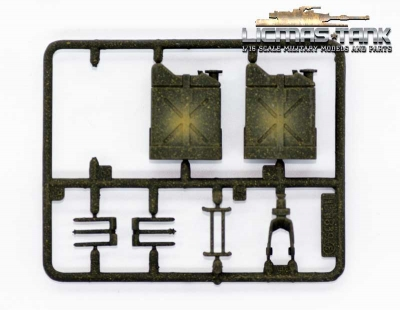 M41 Plastic Accessories Set 3839 E Heng Long 1:16