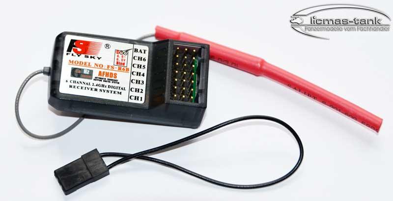 Krick FlySky Empfänger 2,4 GHz 6CH 79084