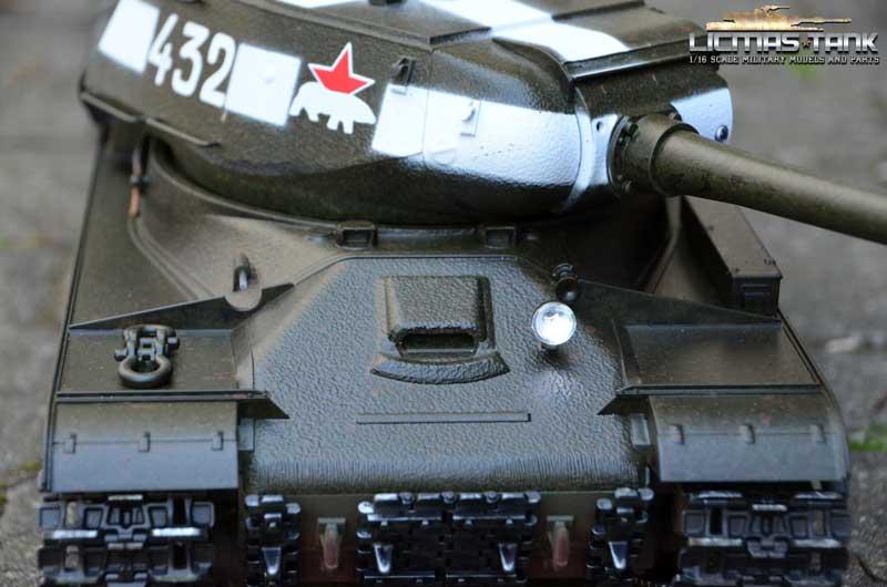 RC Panzer 2.4 GHZ IS-2 Neuheut JS-2 Taigen Profi Metall Edition 6mm BB 1:16