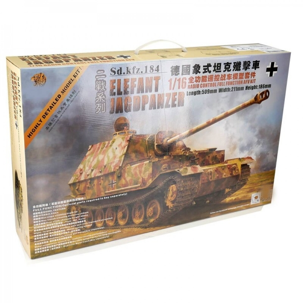 1/16 Kit Elefant Tank of Hooben