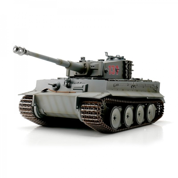 Torro-WSN TIGER 1 - Scale 1/16 with Infrared Battlesystem - Wintergrey