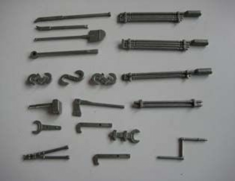 Metal tools & accessories for Panzer IV Heng Long Panzer 4