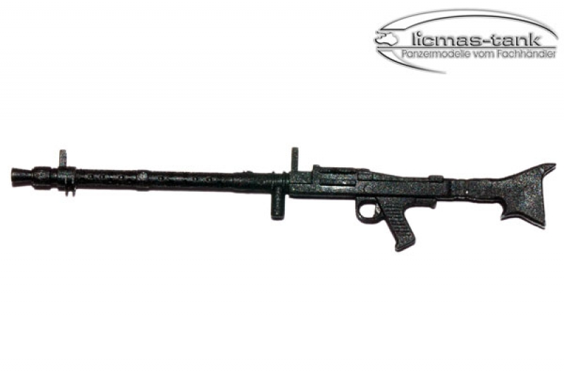 Plastic German machine gun 1:16