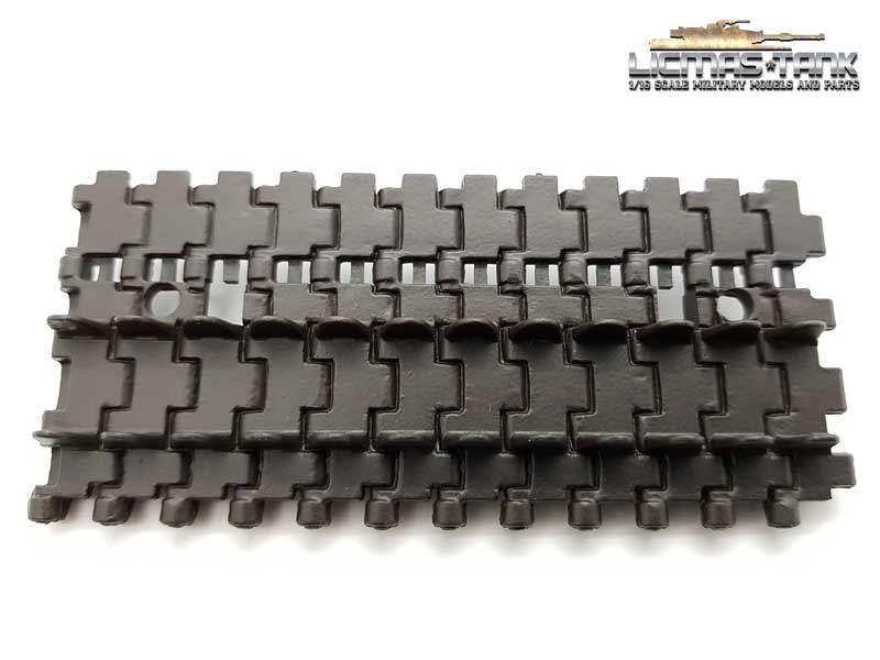 Heng Long Spare Part Plastic Tracks for Chassis German Panther 3819, Tiger 13818 painted