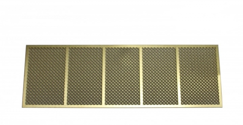 Etched protective grille for T34 / 85