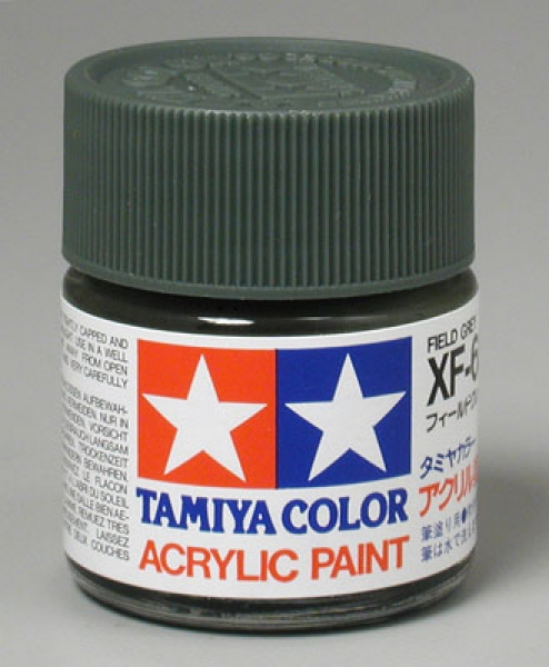 Tamiya Paint XF-65 (item 81365) Field Grey (flat) 23 ml