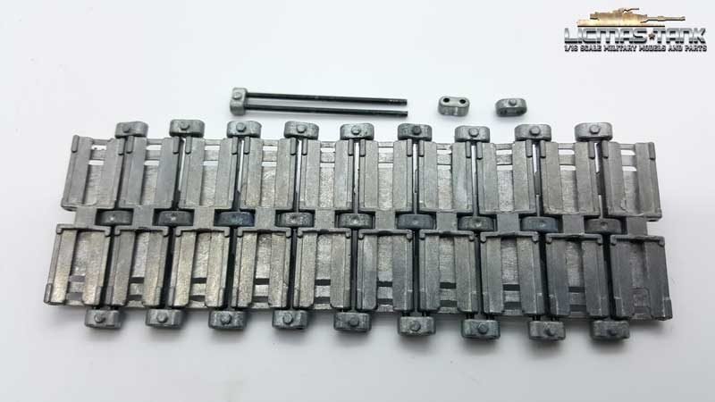 Replacement track for Leopard Mato Toys metal track 1:16