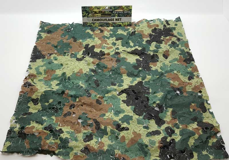 Camouflage net in 1:16 scale