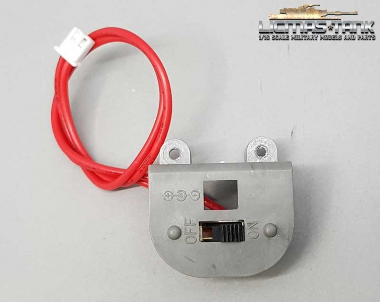 On and Off Switch for Tiger 1 of V6.0S Tanks with open front hatch