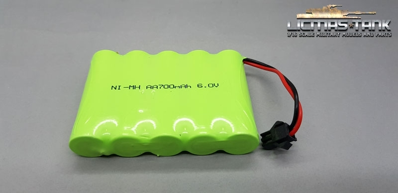 Battery 700 mAh 6V for Heng Long Truck 1:16