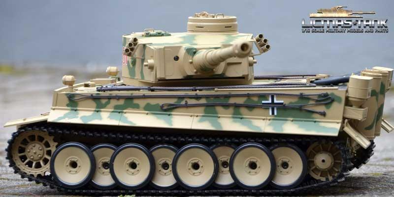 rc tank 2 4 ghz tiger 1 camouflage servo motor vapor. Black Bedroom Furniture Sets. Home Design Ideas