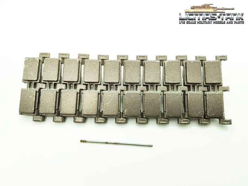 Metal replacement tracks links Heng Long with connecting pins for Abrams 3918