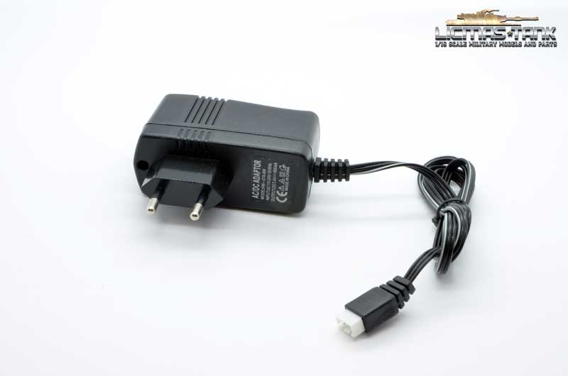 Heng Long battery charger for Li-Ion batteries with indicator 7.4V 800mA