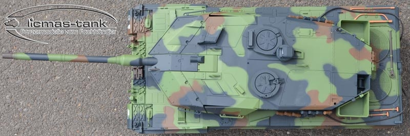 1/16 Leopard 2A6 Rauch & Sound Heng Long V-6.0S Basis Version