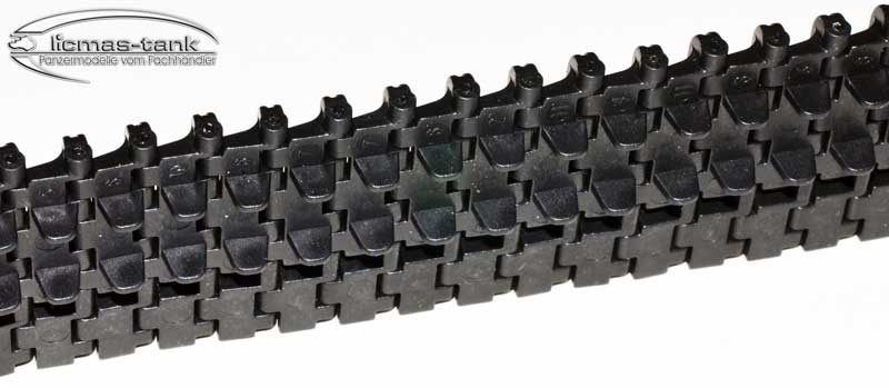 2Pcs Plastic Track 3818-1 German Tiger I Track 18-012 Replace Spare Parts for