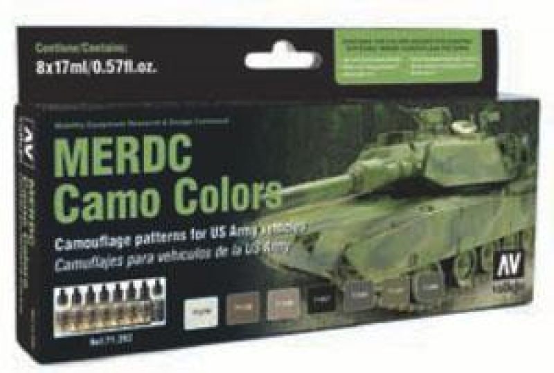 Model Air: Model Air Set MERDC Camo Colors (8)