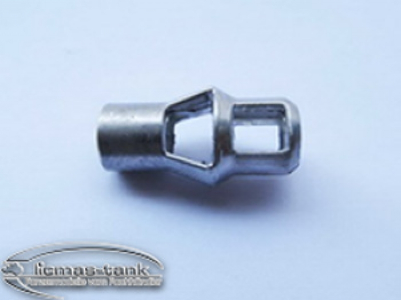Metal muzzle brake for metal cannon barrel Panther 1 1/16