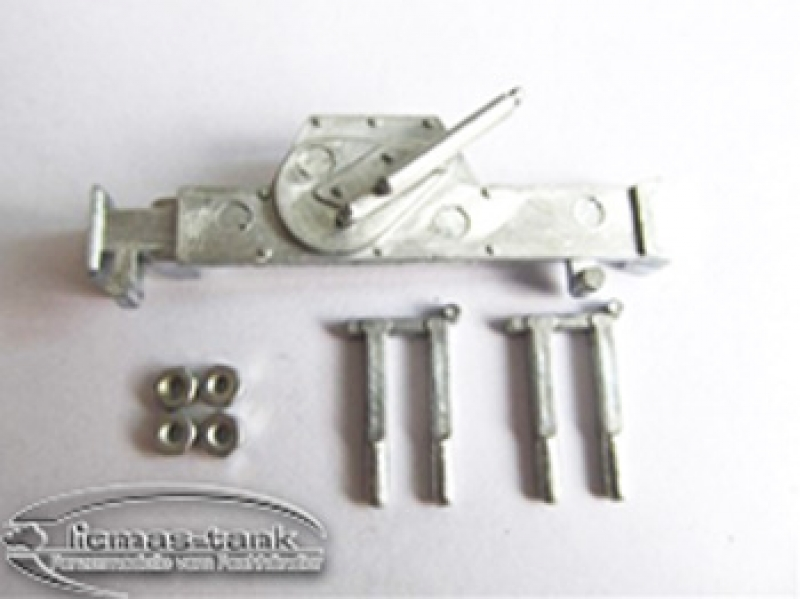 Panzer 3 Stug 3 Panzer 4 metal jack with bracket 1:16