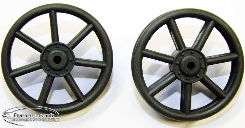 Idler Wheel Panzer 4 plastic Heng Long 1/16