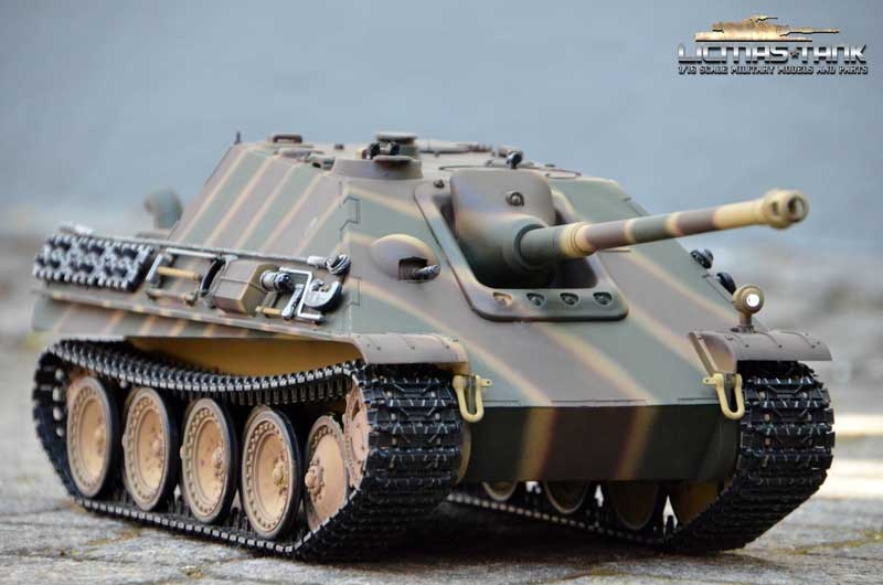 RC Tank Jagdpanther 2.4GHz Profi HQ Metal Edition Shot Funktion